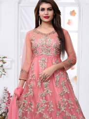 Ankle Length Designer Suit For Party