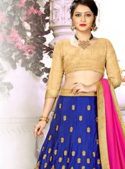 Aqua Blue Reception Trendy Lehenga Choli
