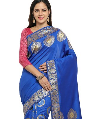 Art Banarasi Silk Party Silk Saree
