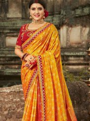 Art Banarasi Silk Traditional Saree