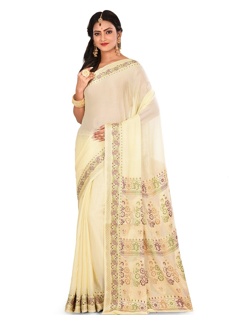 Art Raw Silk Designer Traditional Saree