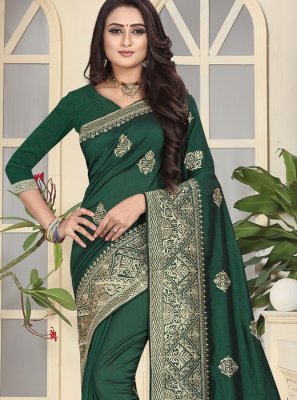 Art Silk Bridal Traditional Saree