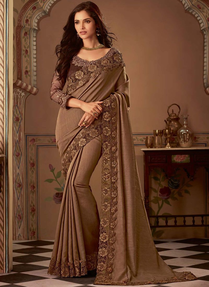 Art Silk Bridal Traditional Saree
