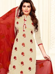 Art Silk Casual Churidar Salwar Suit