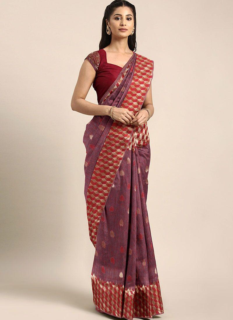 Art Silk Casual Designer Saree