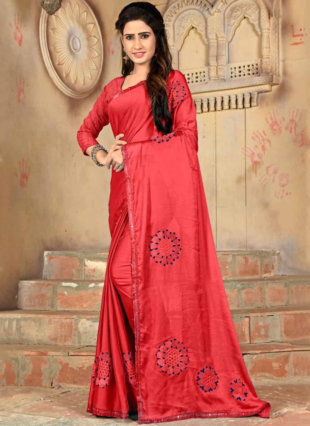 Art Silk Casual Traditional Saree