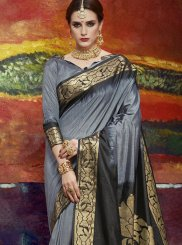 Art Silk Ceremonial Classic Saree