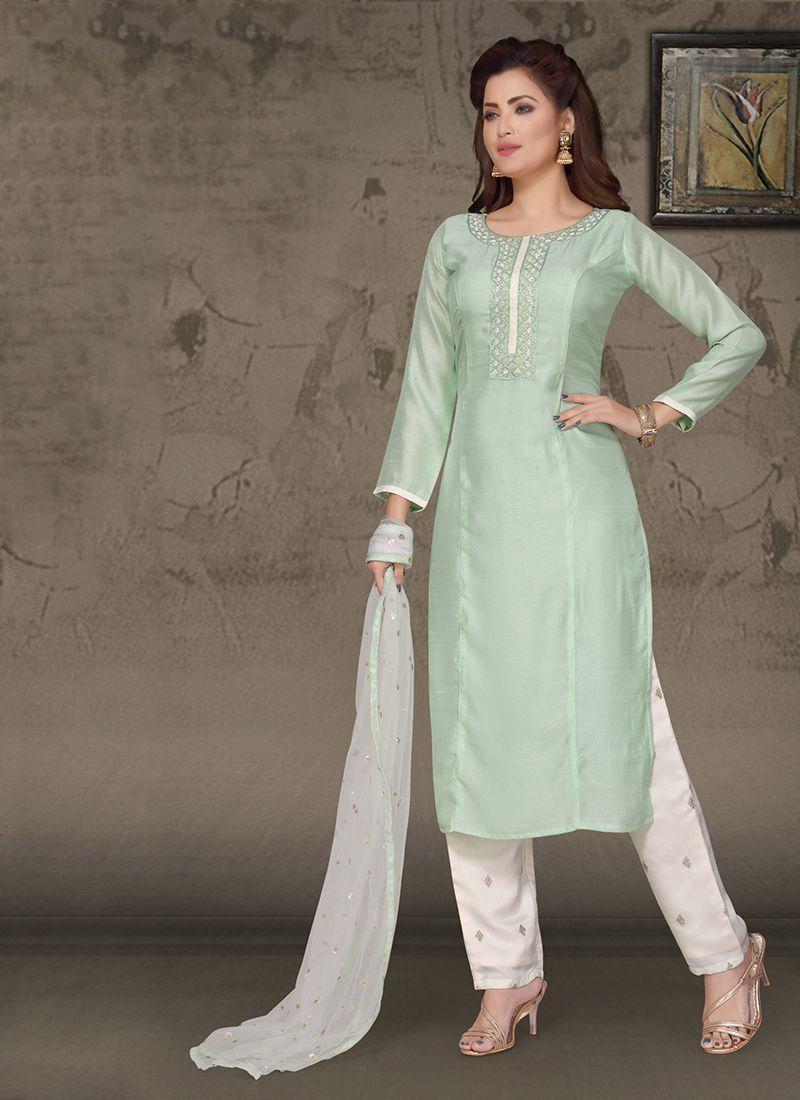 Art Silk Ceremonial Designer Suit