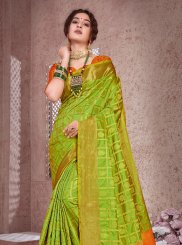 Art Silk Ceremonial Traditional Designer Saree