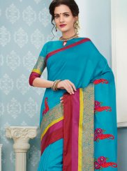 Art Silk Cotton Traditional  Saree