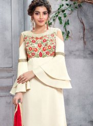 Art Silk Designer Salwar Suit