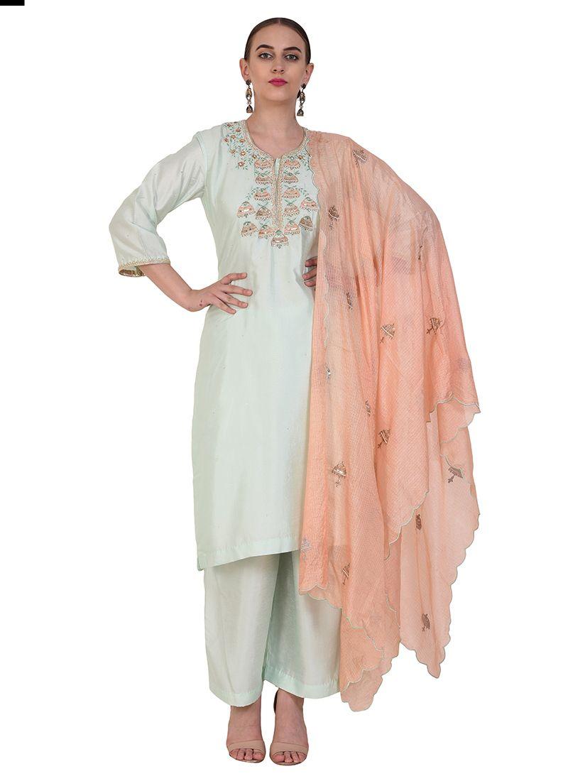 Art Silk Designer Suit