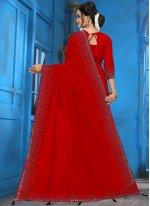 Art Silk Diamond Traditional Designer Saree