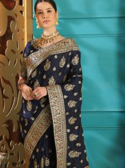 Art Silk Embroidered Designer Saree