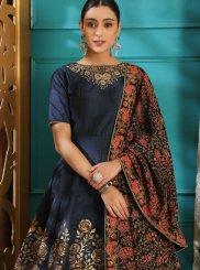 Art Silk Festival Designer Gown