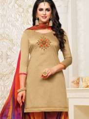 Art Silk Festival Designer Patiala Suit