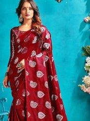 Art Silk Festival Designer Traditional Saree