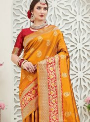 Art Silk Festival Traditional Designer Saree