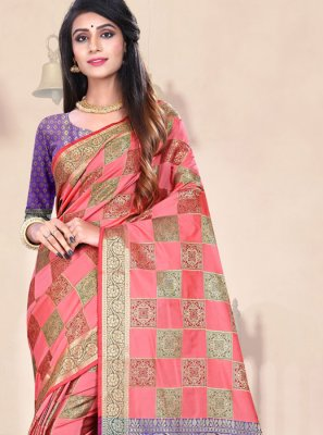 Art Silk Festival Traditional Designer Saree