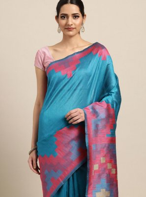 Art Silk Festival Traditional Saree