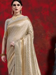 Art Silk Gold Weaving Classic Designer Saree