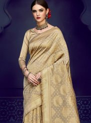 Art Silk Gold Weaving Designer Traditional Saree