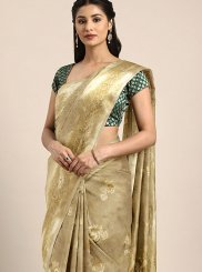 Art Silk Gold Weaving Traditional Designer Saree