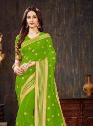Art Silk Green Silk Saree