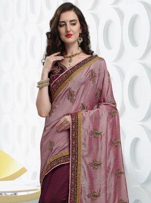 Art Silk Lace Designer Traditional Saree