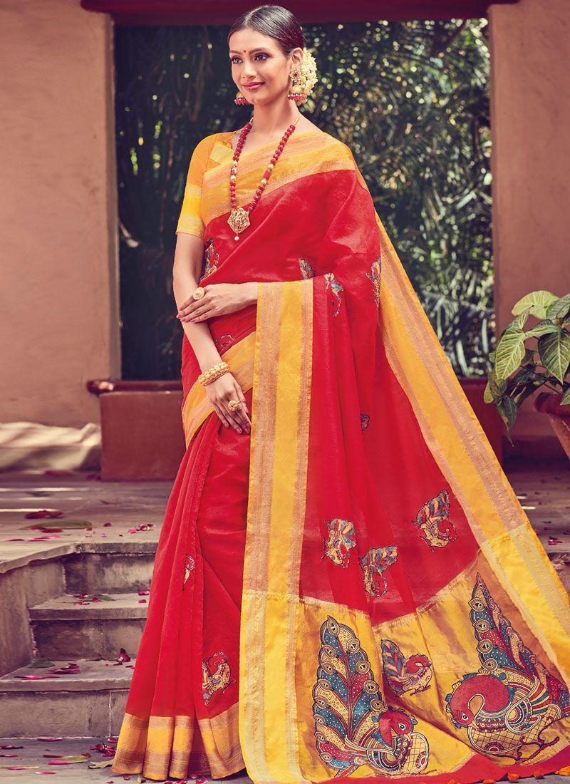 5d22354f68 Art Silk Party Traditional Designer Saree buy online -