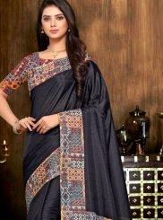 Art Silk Print Printed Saree