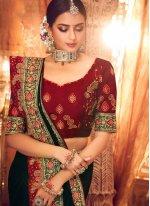 Art Silk Resham Classic Saree