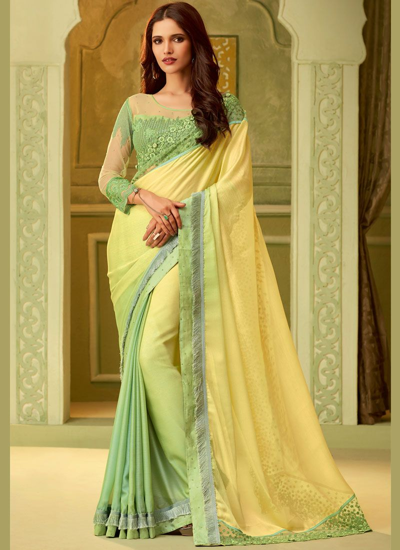 Art Silk Sangeet Classic Saree