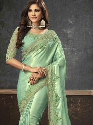 Art Silk Sangeet Trendy Saree