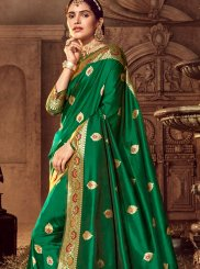 Art Silk Stone Work Classic Designer Saree