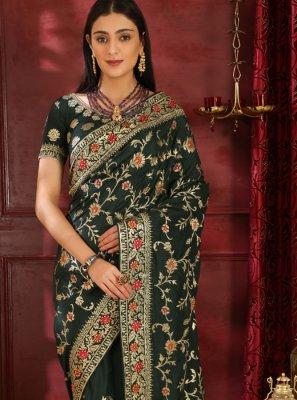 Art Silk Stone Work Classic Saree
