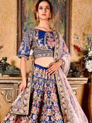 Art Silk Stone Work Designer Lehenga Choli
