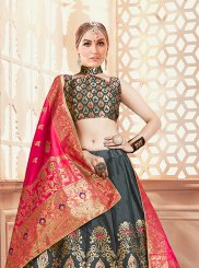Art Silk Weaving Designer Lehenga Choli