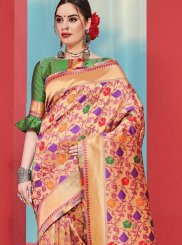 Art Silk Weaving Multi Colour Casual Saree