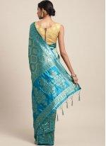 Art Silk Weaving Traditional Saree