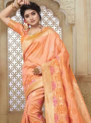 Art Silk Weaving Traditional Saree