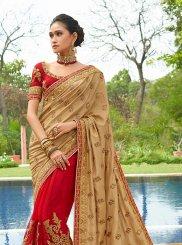 Art Silk Wedding Classic Saree