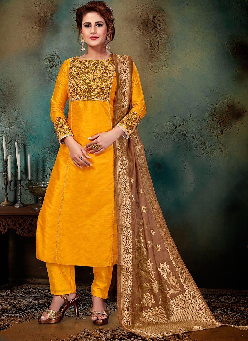 Art Silk Wedding Designer Suit