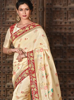 Art Silk Wedding Designer Traditional Saree