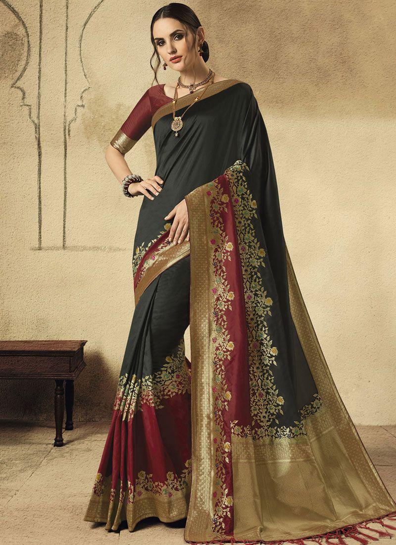 Art Silk Wedding Traditional Designer Saree