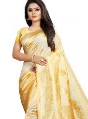 Art Silk Woven Designer Traditional Saree