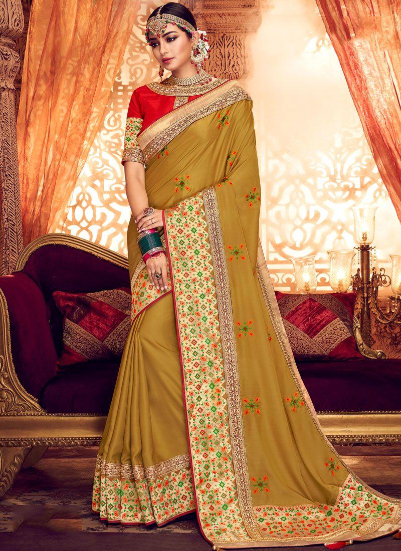 Art Silk Zari Classic Saree