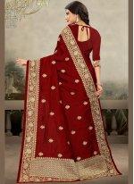 Art Silk Zari Trendy Saree
