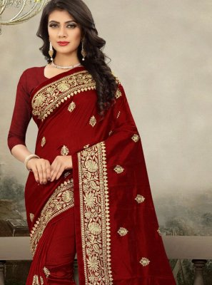 Art Silk Zari Trendy Saree