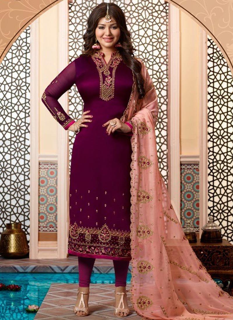 Ayesha Takia Churidar Designer Suit